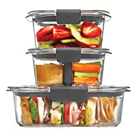 Rubbermaid Brilliance Food Storage Container 10-Piece Set 1997842 Deals