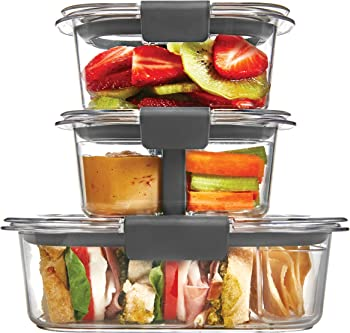 Rubbermaid Brilliance 10Pc. Food Storage Container