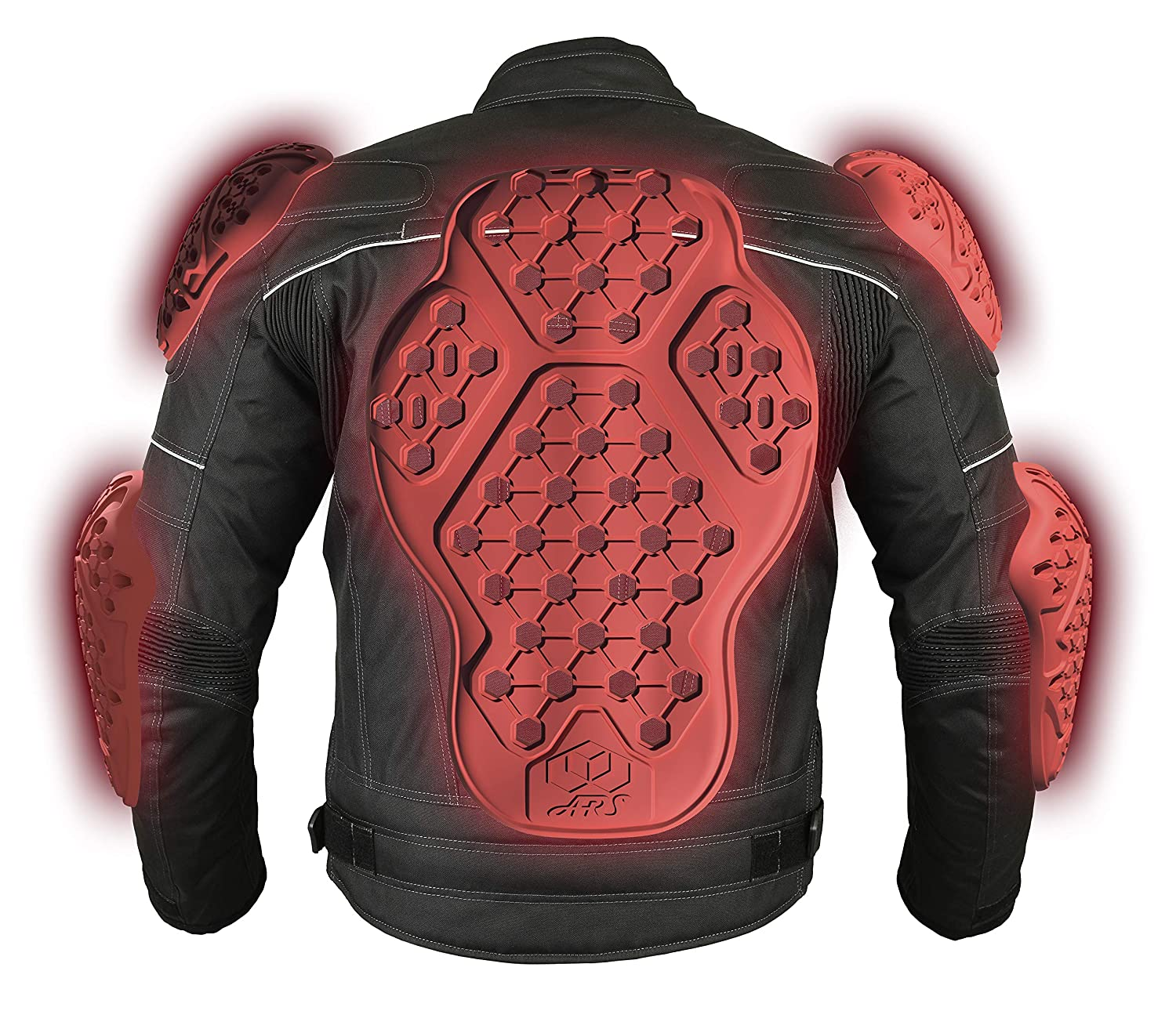 Set of 2 ,Red//One Size NSTAR Eblow Protector,ARS Replacement Elbow Pads AP-EVO-E,Street Motorcycle Riding Body Armor