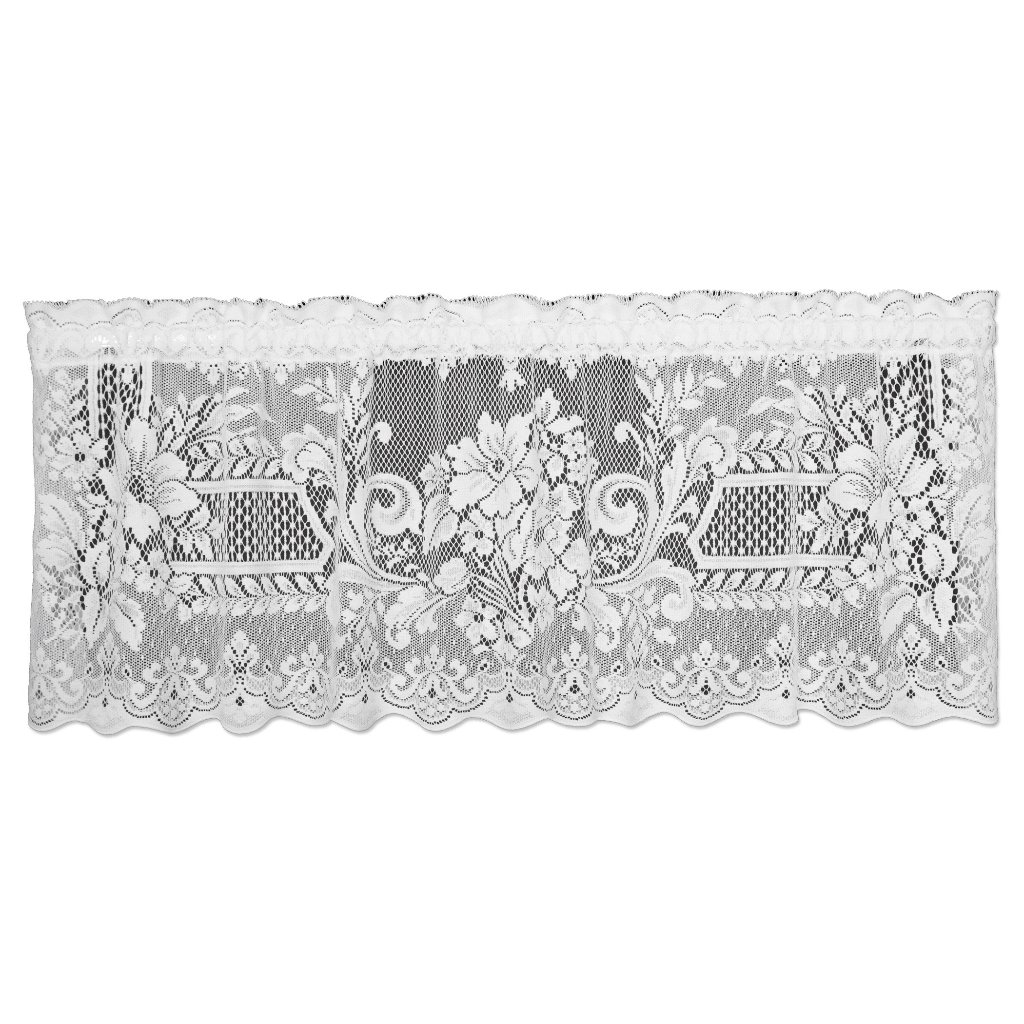 Heritage Lace 59'' Wide White Bouclé Bolt