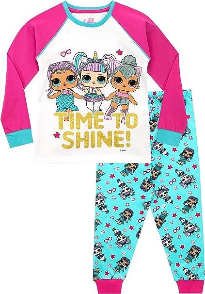 LOL Surprise Pijamas de Manga Corta para Niñas Dolls: Amazon.es: Ropa y accesorios