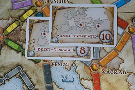 Days of Wonder Ticket to Ride Europe - Juego de Mesa de Estrategia sobre ferrocarriles (en inglés): Ticket to Ride Europe: Amazon.es: Juguetes y juegos