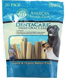 American Kennel Club 20 Count Yogurt And Peanut Er Dentacare Dog Treats