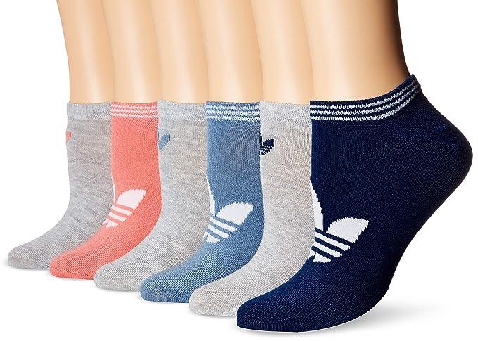 adidas Originals - Calcetines para mujer, 6 unidades, sin sombra - 977044, 5