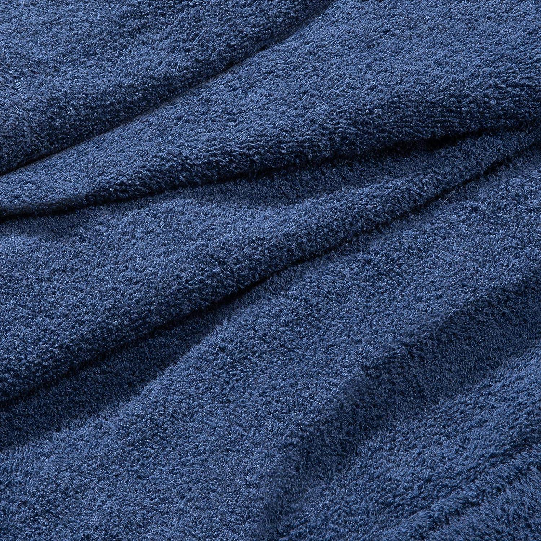 Celinatex Funlike Poncho de ba/ño Mittel 65x100 cm Negro Gris Algod/ón