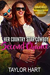 Her Country Star Cowboy Second Chance: Sweet First Love and Second Chance Romance (Solid Gold Summerville Ranch Billionaire Romances Book 2) Kindle Edition
