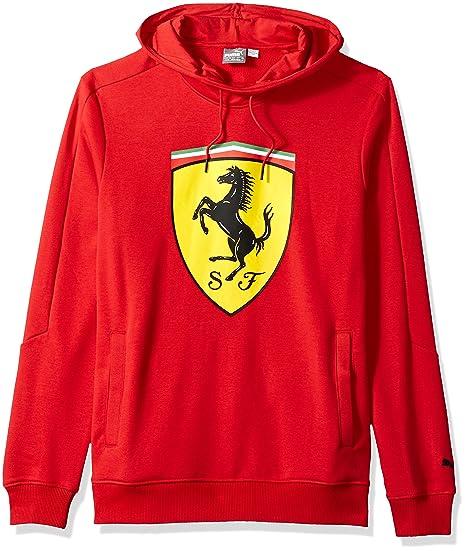 PUMA Men\u0027s Scuderia Ferrari Big Shield Hoodie