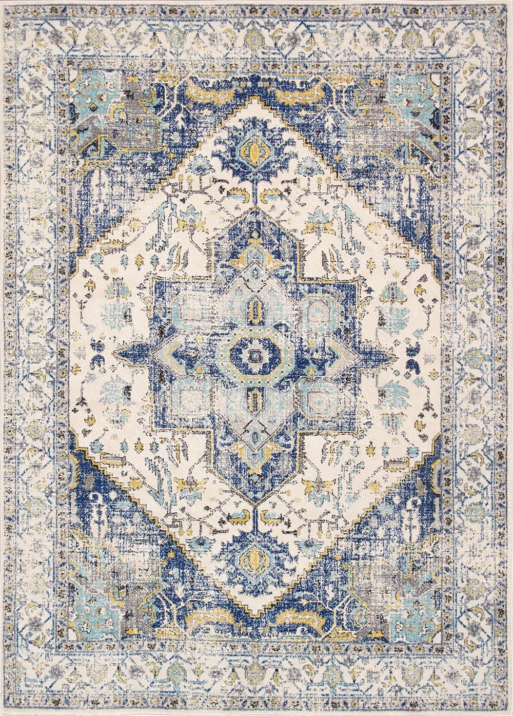 Pasargad Home PRC-5365 10X14 Chelsea Design Machine Made Power Loom Area Rug 10 x 14 Multi