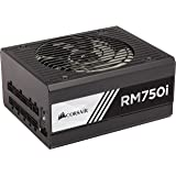 Corsair RMi Series, RM750i, 750 Watt (750W), Fully Modular Power Supply, 80+ Gold Certified