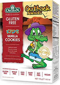 Orgran Free From Outback Animals Vanilla Cookies 175 G Pack Of 8 Amazon Ca Electronics