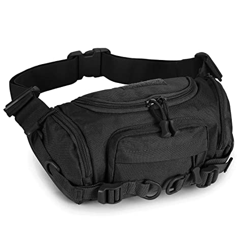 Molle Utility Waistpack Outdoor Tactical Cross Body Bag Bumbag Military Hiking
