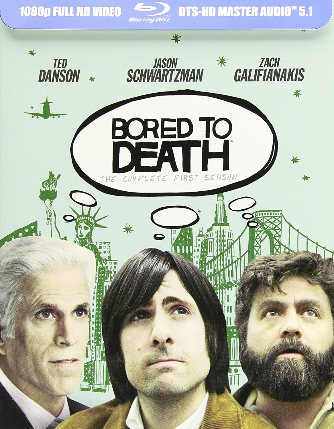 Amazon Com Bored To Death Season 1 Blu Ray Jason Schwartzman Zach Galifianakis Movies Tv