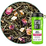 Tiesta Tea - Fruity Pebbles, Loose Leaf Strawberry Pineapple Green Tea, Medium Caffeine, Hot & Iced Tea, 4 oz Tin - 50…