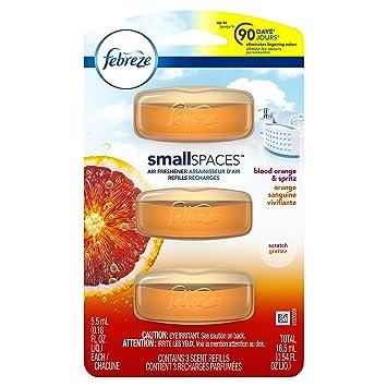 Amazon.com: Febreze Small Spaces Refill Pack, Blood Orange & Spritz ...