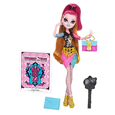Monster High New Scaremester Gigi Grant Doll (Discontinued by manufacturer): Toys & Games [5Bkhe1401244]