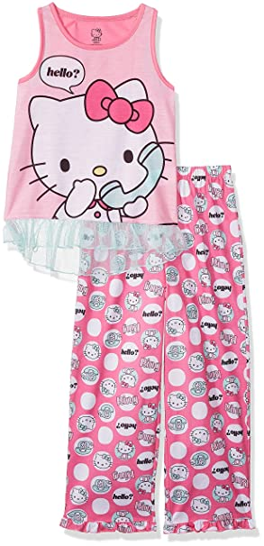 Hello Kitty Niñas Juego de pijama - Rosado -