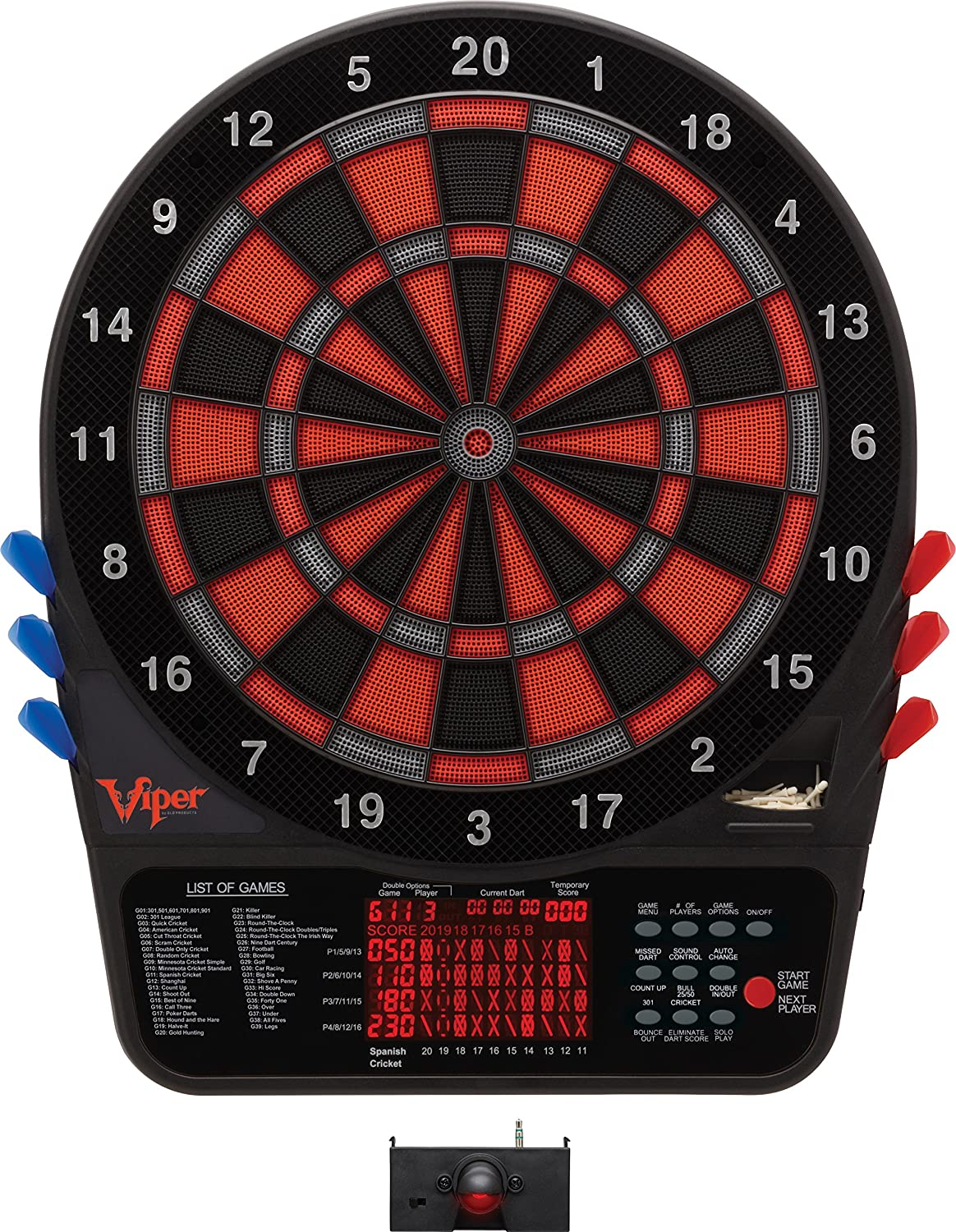 Viper 800 Dartboard and LaserLite Throw Line B01M74LYIP