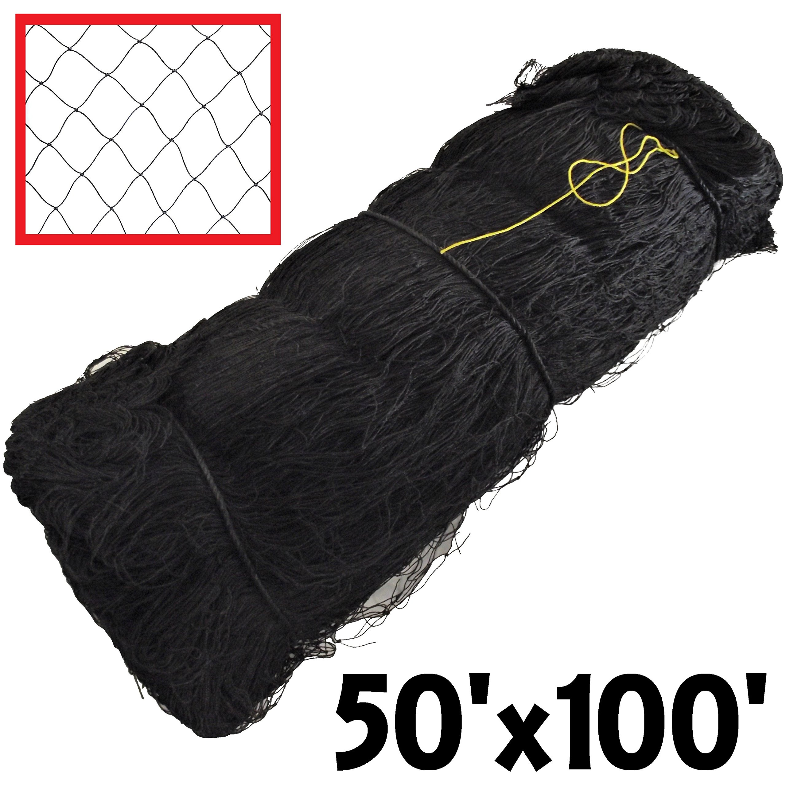 RITE FARM PRODUCTS 50X100 POULTRY BIRD AVIARY NETTING GAME PEN NET GARDEN CHICKEN ANTI by Rite Farm Products