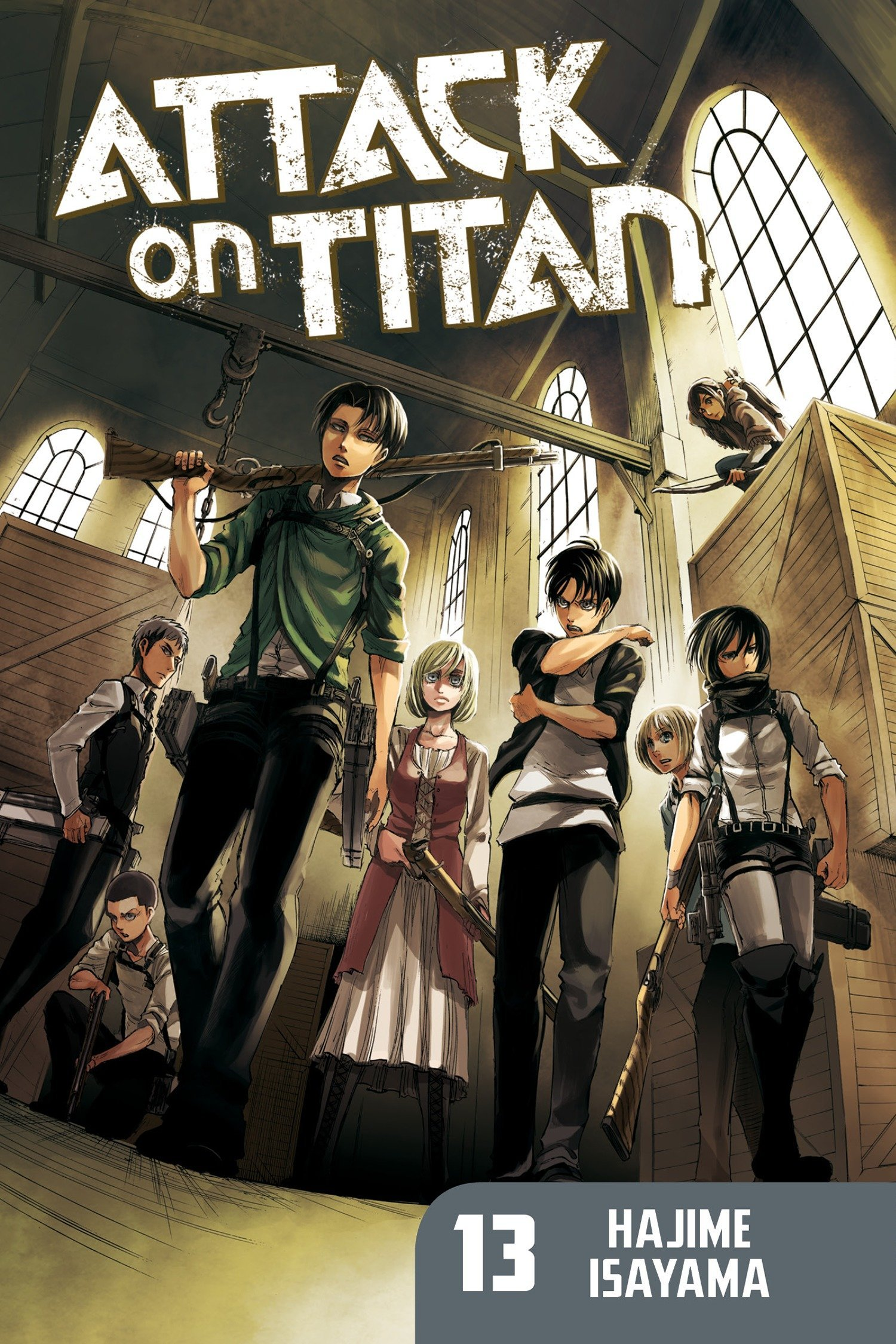 Attack on Titan 13 ebook