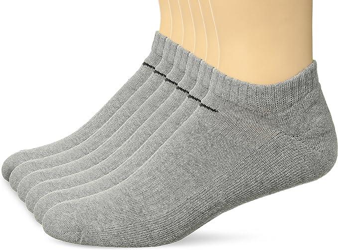 NIKE Performance Cushion No Show Socks with Bag (6 Pairs)