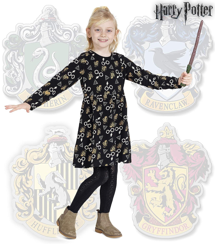 Harry Potter Vetement Fille avec Glitter Accessoires pour Filles Gryffondor
