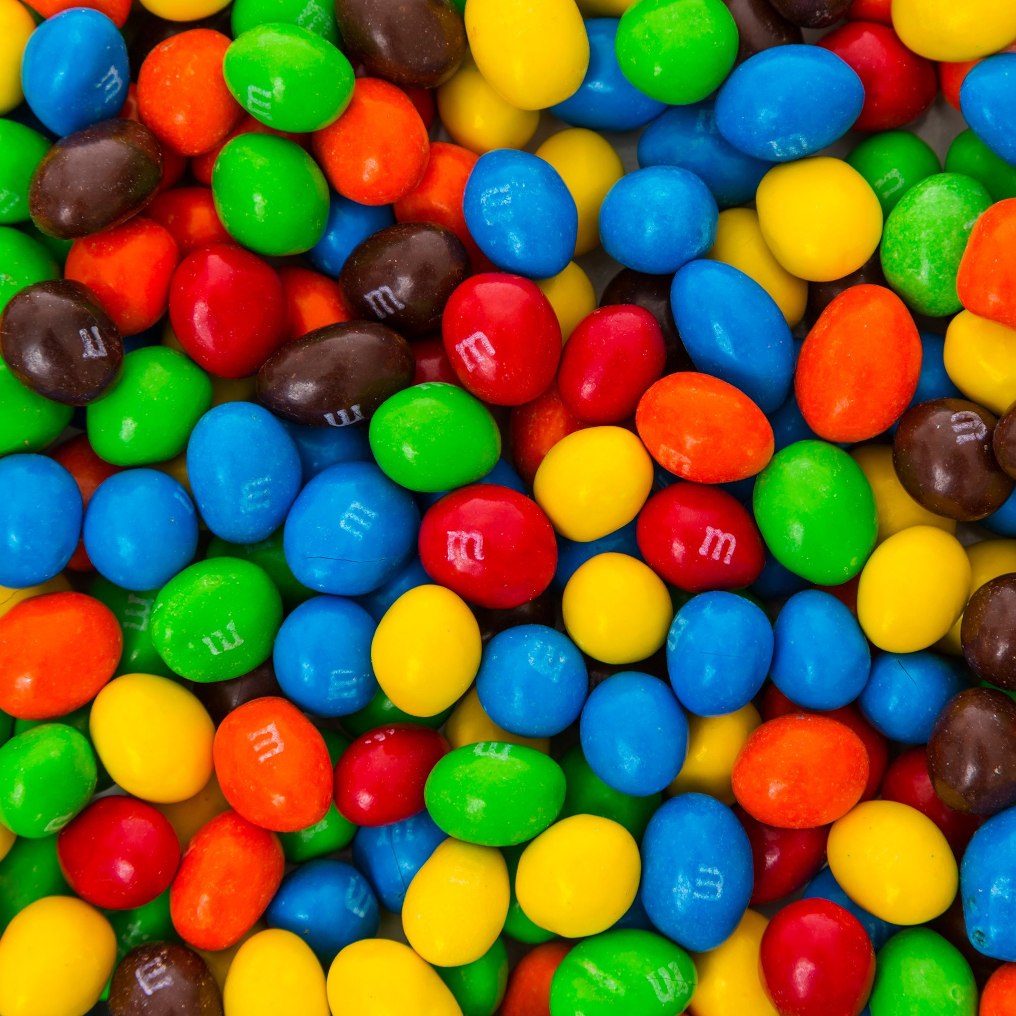 Bulk Peanut M&Ms in Resealable Bomber Bag, Wholesale Chocolate & Peanut Candy (5lb Bag) by Fast Fresh Nuts (Image #2)