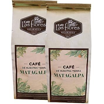 Amazon Com Cafe Las Flores Matagalpa Ground Coffee From