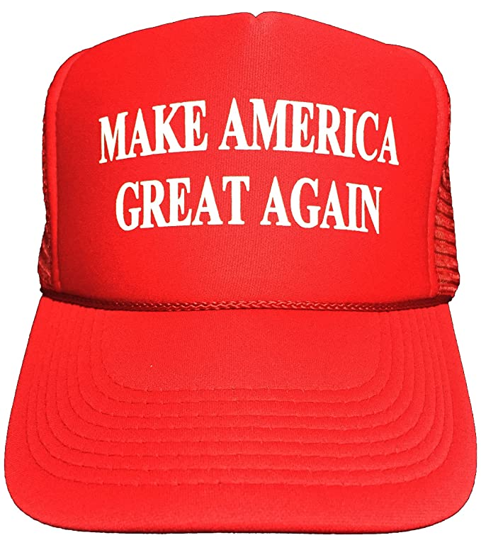 Oliasports Generic Make America Great Again Trump 2016 Unisex Adult Adjustable Hat Red,, by Oliasports