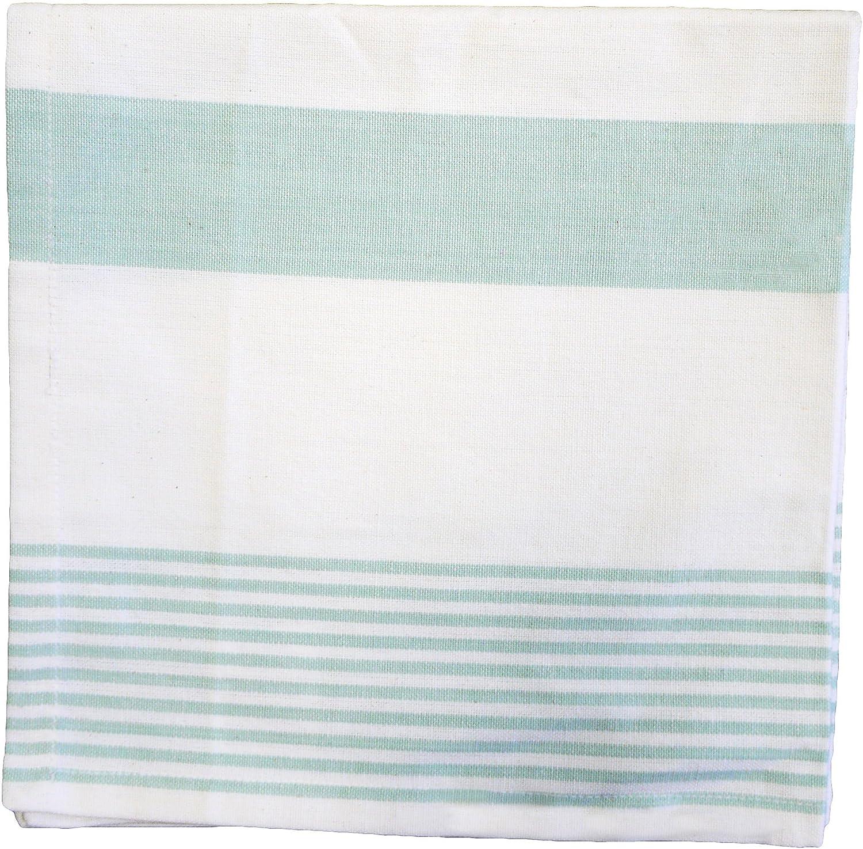 13 x 72 cmリブ編みテーブルランナー Napkin 842611769 Napkin Sea Glass Green B01B67CIUU
