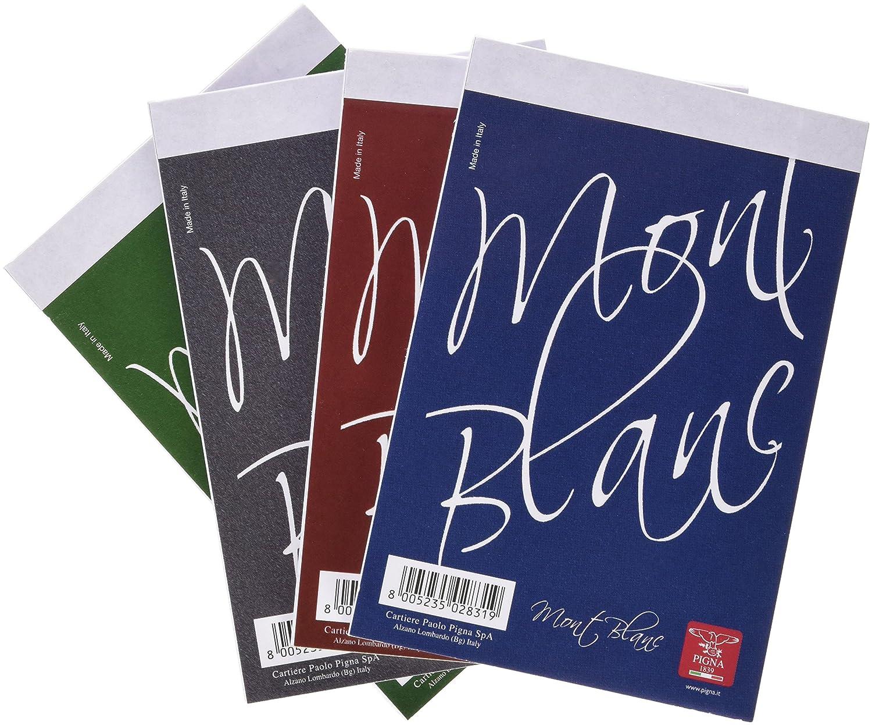 Pigna Mont Blanc quaderno per scrivere Multicolore