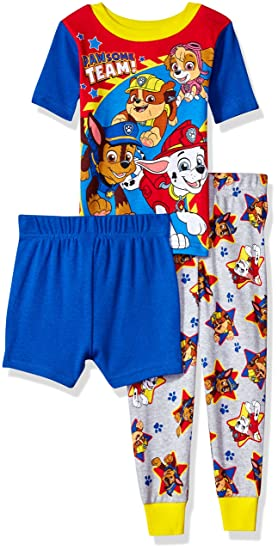 49a8e5b50a Amazon.com  Nickelodeon Boys  Toddler Paw Patrol 3-Piece Cotton ...