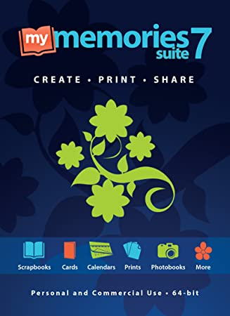 MyMemories Suite 7: The fun and easy way to create scrapbooks, photobooks, prints, custom gifts, and more! (for PC/Win) [Download]