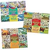 Melissa & Doug Reusable Jungle & Savanna/Farm/Under The Sea Sticker Pad (3 Pack)