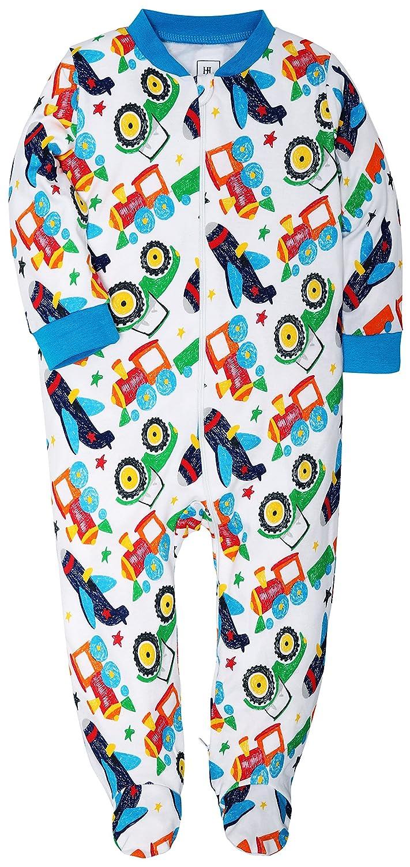 365515fbc2f8 Amazon.com  New 2 Pack Footed Pajama Baby Boys Girls Sleeper Long ...