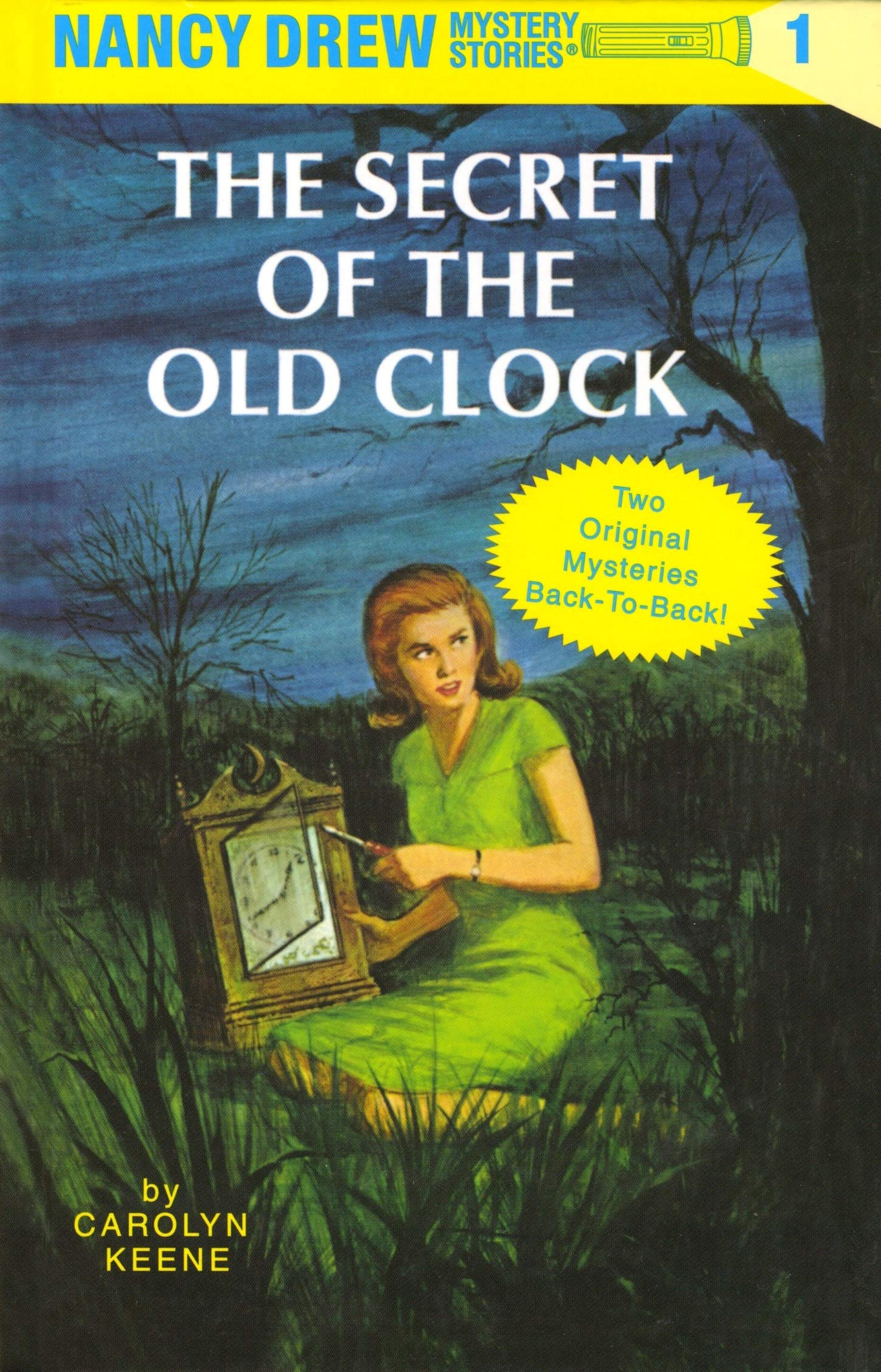Nancy Drew Mystery Stories : The Secret of The Old Clock and The Hidden  Staircase: Keene, Carolyn: 9780448095707: Amazon.com: Books