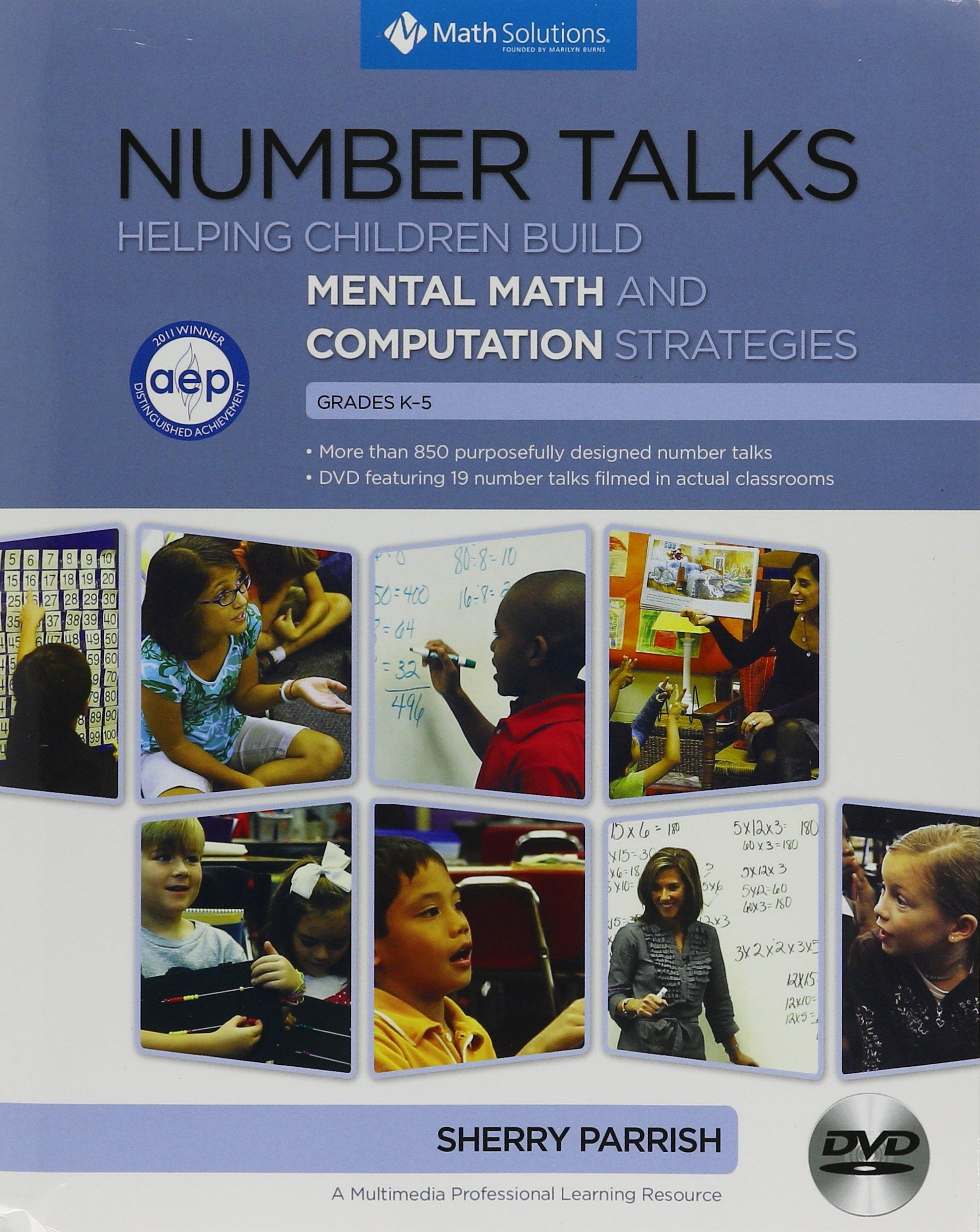 Download Number Talks : Helping Children Build Mental Math and Computation Strategies, Grades K-5 pdf
