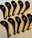 10Néoprène JL Golf Club inclus Tête Housse de protection Fer Long cou Choisir Couleur