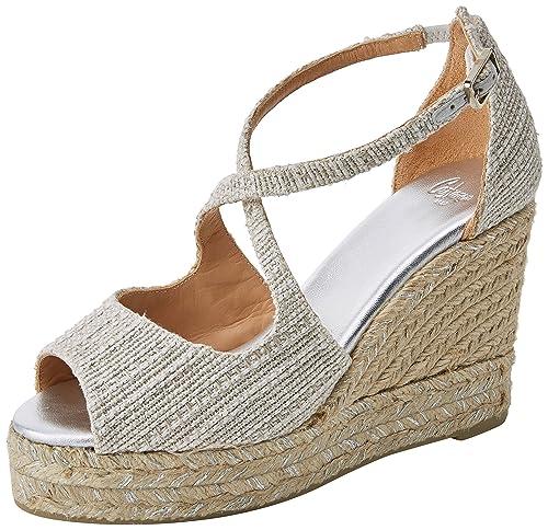 Castañer Bisse8edss18007, Alpargatas para Mujer: Amazon.es: Zapatos y complementos