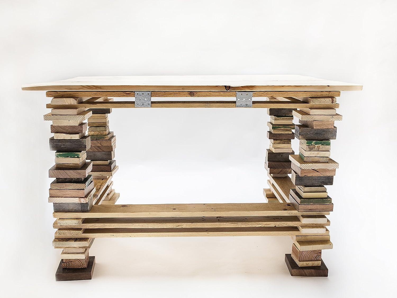 escritorio madera reciclada diseño original hecho a mano por ...