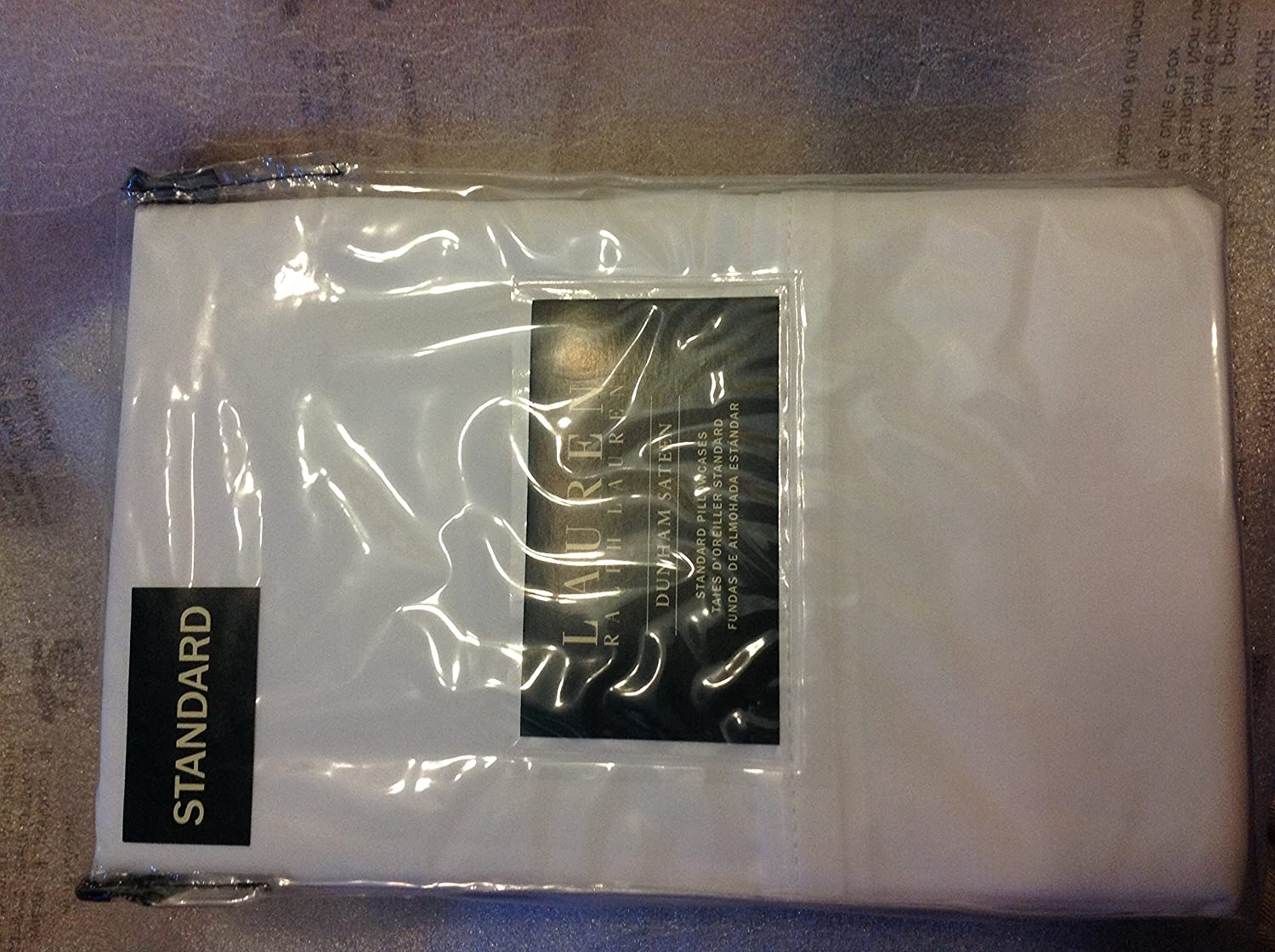 Ralph Lauren Two Standard Pillowcases