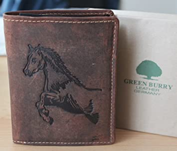 Cartera g1701 – 25 Horse para Caballos, Piel de Greenburry/lefox