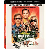 Deals on Once Upon A Time In Hollywood 4K + Blu-ray + Digital