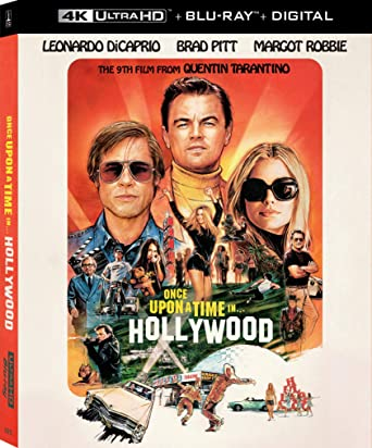 Amazoncom Once Upon A Time In Hollywood Blu Ray