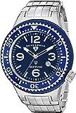 Swiss Legend Men's 21819P-33-BL Neptune Force Analog Display Swiss Quartz Silver Watch