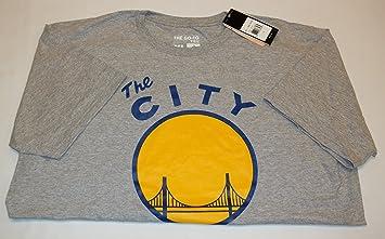 Adidas Golden State Warriors Logo de la Ciudad Vintage Gris T Shirt, Atlético, Gris: Amazon.es: Deportes y aire libre