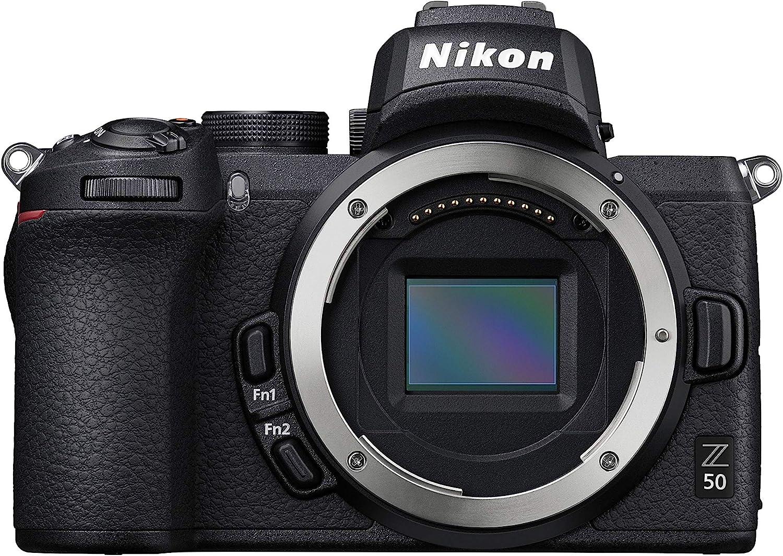 Nikon Z50 - Cámara sin Espejo de 21 MP, Negro