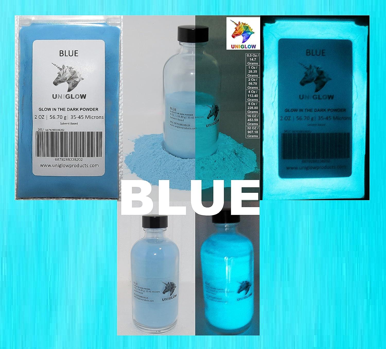 UniGlow 暗闇で輝く蛍光粉末染料  4 Oz / 113.40 Grams ブルー 43207-10121 B01MY9BZXW 4 Oz / 113.40 Grams|ブルー ブルー 4 Oz / 113.40 Grams
