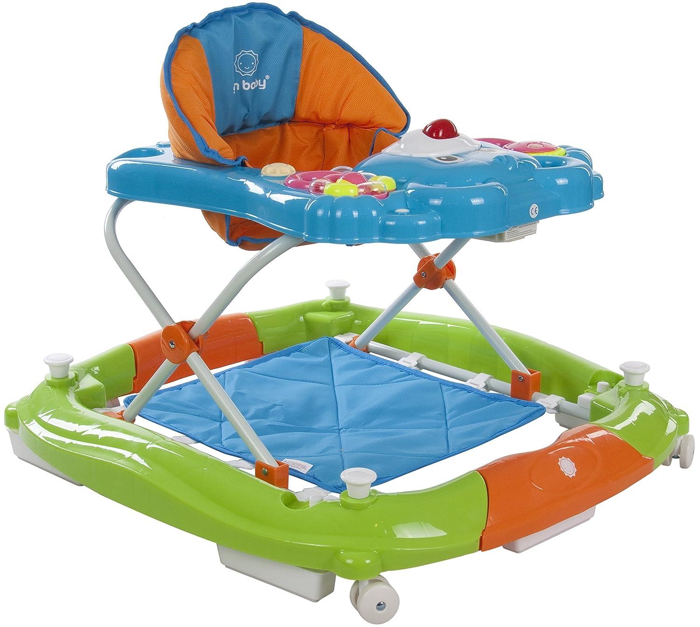 Sun Baby Bear - Andador para bebé, color azul y verde: Amazon.es: Bebé