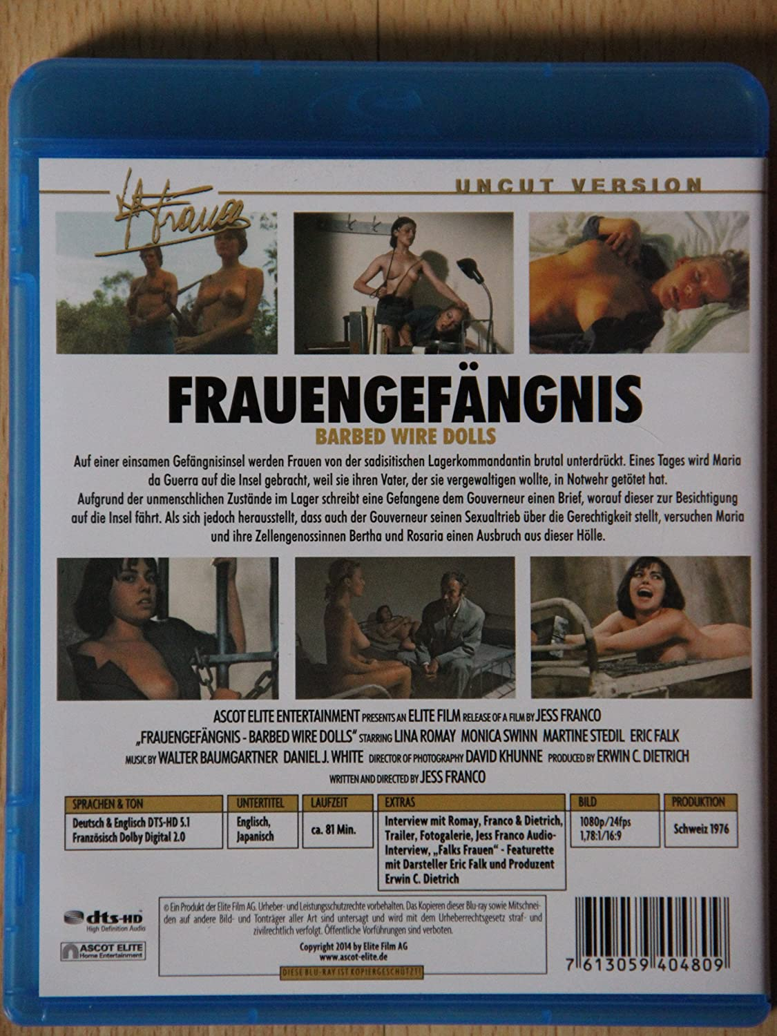 Amazon.com: Barbed Wire Dolls (1976) ( Frauengefängnis ) [ Blu-Ray ...