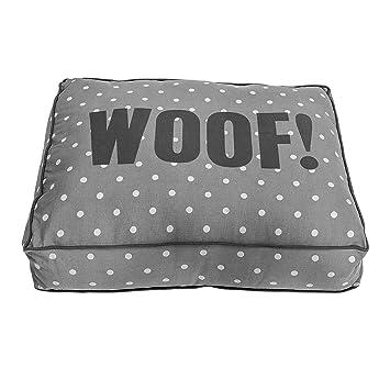 BLOOMINGVILLE XL Gris Lunares perro cama 120 cm: Amazon.es: Productos para mascotas